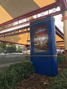 Ecran extérieur Disney Paris