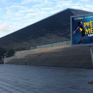 Panneau publicitaire LED Rouen Normandie