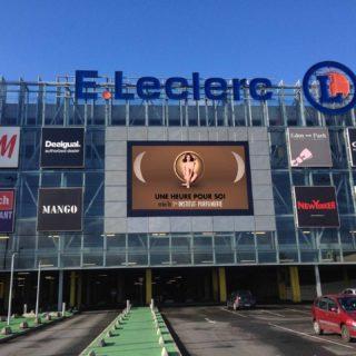Écran géant led extérieur Leclerc Toulouse