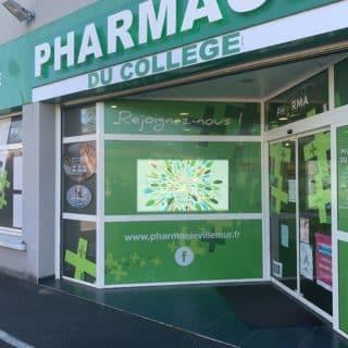 Ecran led vitrine pharmacie Toulouse